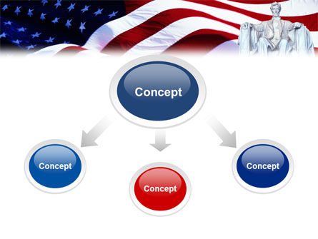 Abraham Lincoln PowerPoint Template, Slide 4, 01918, America — PoweredTemplate.com