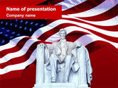 America: Abraham Lincoln PowerPoint Template #01918