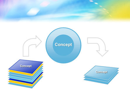 nanotechnology powerpoint template, backgrounds | 01921, Presentation templates
