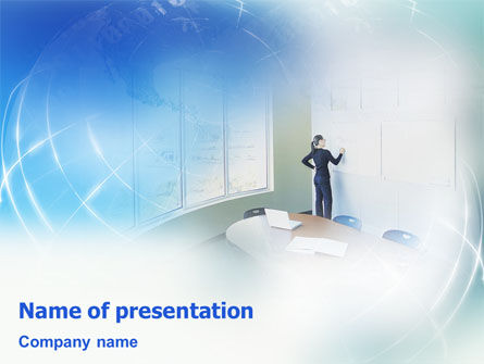 Workshop PowerPoint Template, 01922, Consulting — PoweredTemplate.com