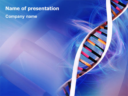 Technology and Science: Double Spiral PowerPoint Template #01923