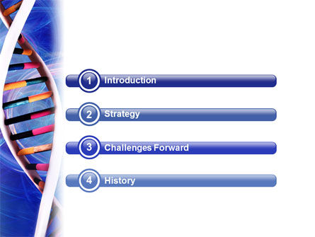 Double Spiral PowerPoint Template, Slide 3, 01923, Technology and Science — PoweredTemplate.com