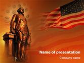 Holiday/Special Occasion: Tag des präsidenten PowerPoint Vorlage #01925