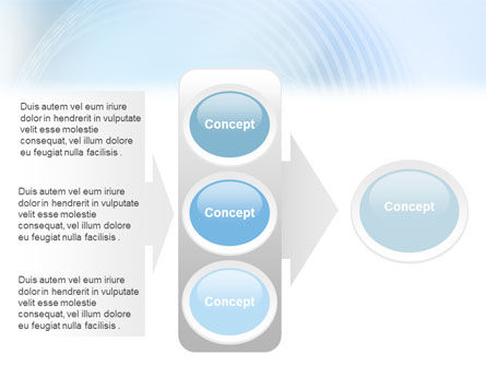 Foggy Perspective PowerPoint Template Slide 11