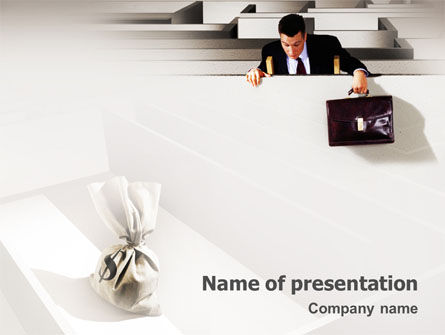 Careers/Industry: Profit PowerPoint Template #01928