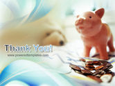 Piggy Bank And Coins PowerPoint Template#20