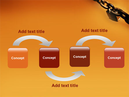 Lock This Chain PowerPoint Template, Slide 4, 01934, General — PoweredTemplate.com