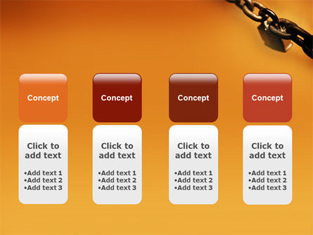 Lock This Chain PowerPoint Template Slide 5