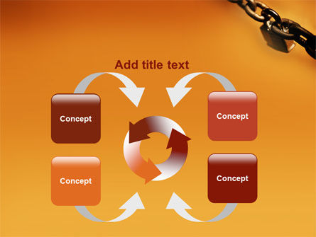 Lock This Chain PowerPoint Template Slide 6