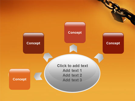 Lock This Chain PowerPoint Template Slide 7