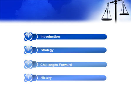 Symbol of Justice PowerPoint Template Slide 3