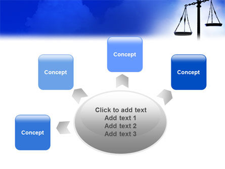 Symbol of Justice PowerPoint Template Slide 7