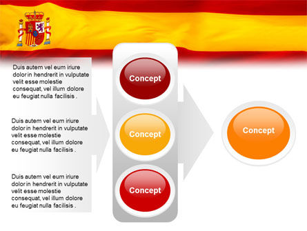 Spanish Flag PowerPoint Template Slide 11