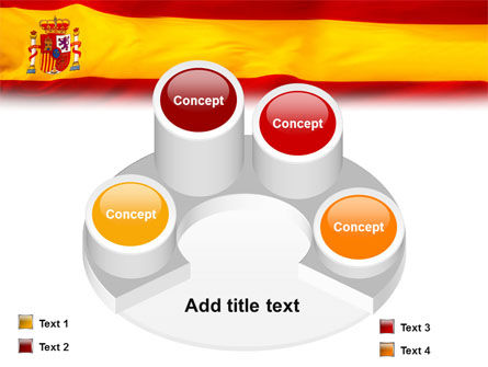 Spanish Flag PowerPoint Template Slide 12