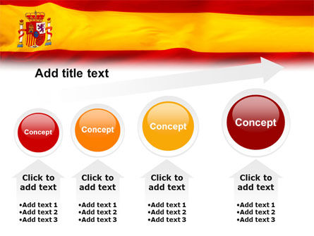 Spanish Flag PowerPoint Template Slide 13