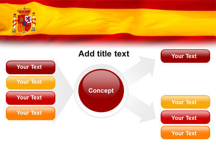 Spanish Flag PowerPoint Template Slide 14