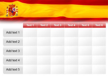 Spanish Flag PowerPoint Template Slide 15