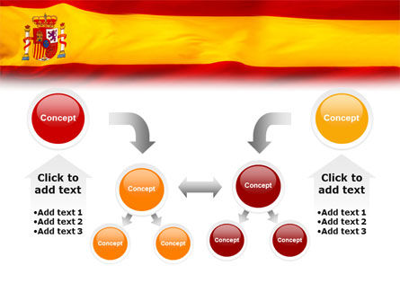 Spanish Flag PowerPoint Template Slide 19
