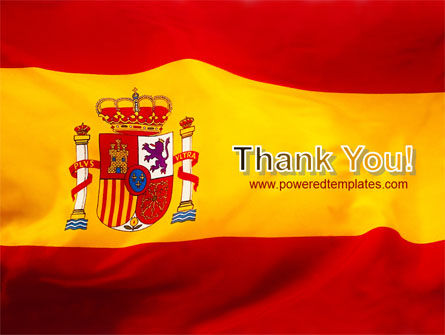 Spanish Flag PowerPoint Template Slide 20