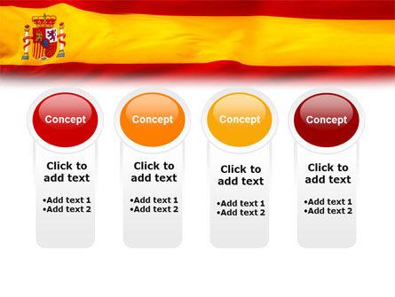 Spanish Flag PowerPoint Template Slide 5