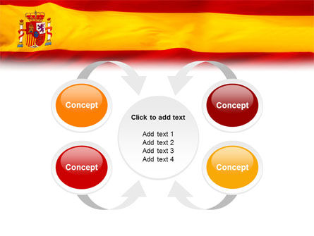 Spanish Flag PowerPoint Template Slide 6