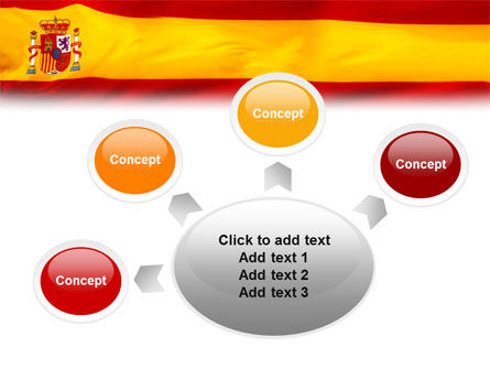 Spanish Flag PowerPoint Template Slide 7