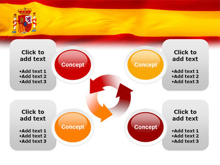 Spanish Flag PowerPoint Template Slide 9