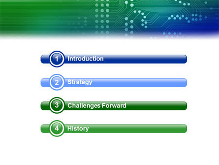 Printed Circuit Board PowerPoint Template, Slide 3, 01945, Technology and Science — PoweredTemplate.com
