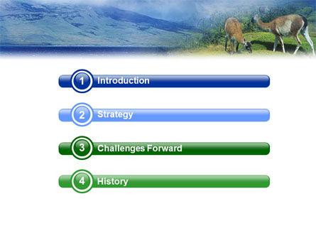 Pampa PowerPoint Template, Slide 3, 01950, Animals and Pets — PoweredTemplate.com