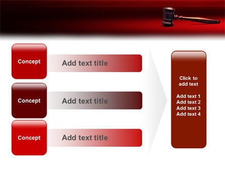 Judge Mallet PowerPoint Template Slide 12