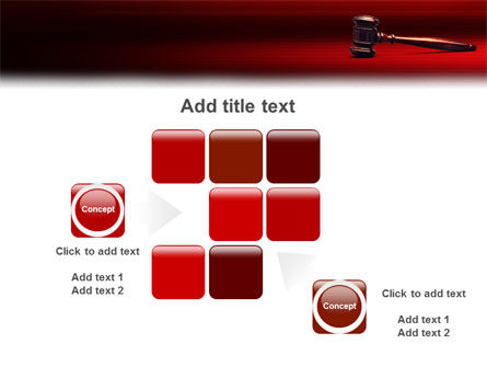 Judge Mallet PowerPoint Template Slide 16
