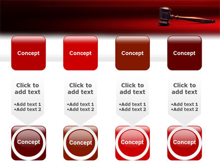 Judge Mallet PowerPoint Template Slide 18