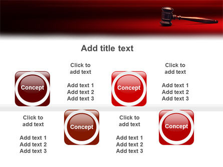 Judge Mallet PowerPoint Template Slide 19