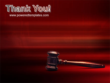 Judge Mallet PowerPoint Template Slide 20