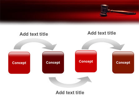 Judge Mallet PowerPoint Template, Slide 4, 01953, Legal — PoweredTemplate.com
