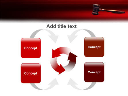 Judge Mallet PowerPoint Template Slide 6
