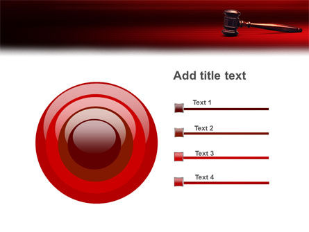 Judge Mallet PowerPoint Template Slide 9