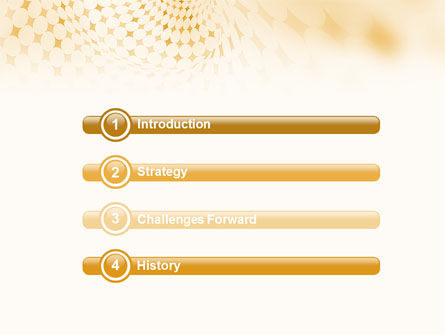 Rhombus Theme PowerPoint Template, Slide 3, 01954, Abstract/Textures — PoweredTemplate.com