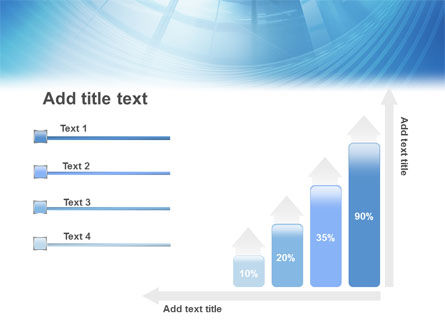 Office Building Hall PowerPoint Template Slide 8