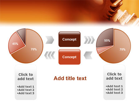 Gear PowerPoint Template Slide 11