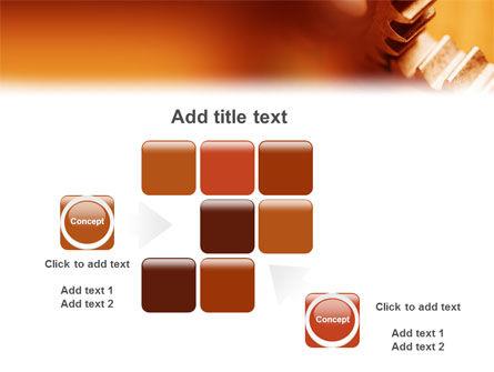Gear PowerPoint Template Slide 16