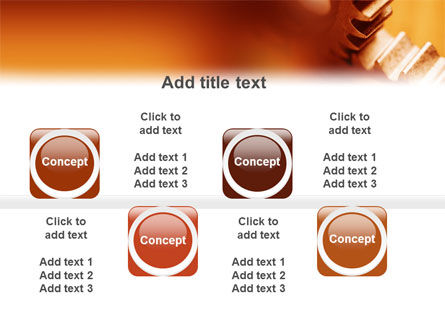 Gear PowerPoint Template Slide 19