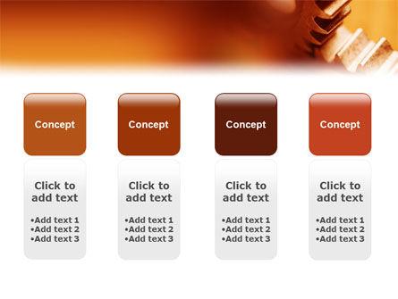 Gear PowerPoint Template Slide 5