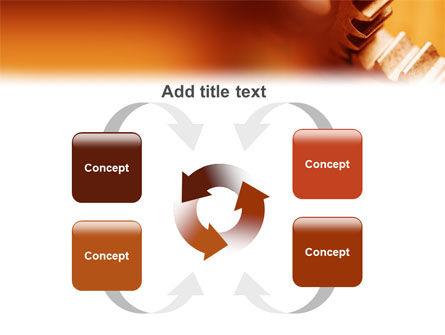 Gear PowerPoint Template Slide 6