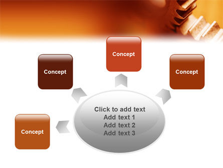 Gear PowerPoint Template Slide 7
