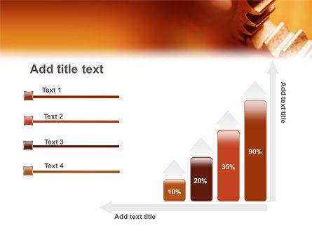 Gear PowerPoint Template Slide 8