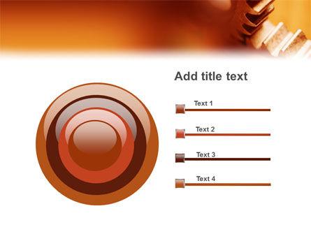 Gear PowerPoint Template Slide 9