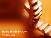 Construction: Gear PowerPoint Template #01959