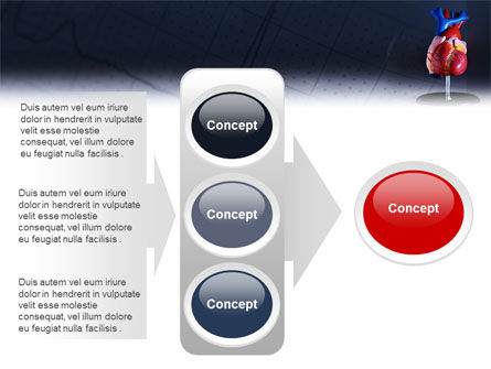 Heart Model PowerPoint Template Slide 11