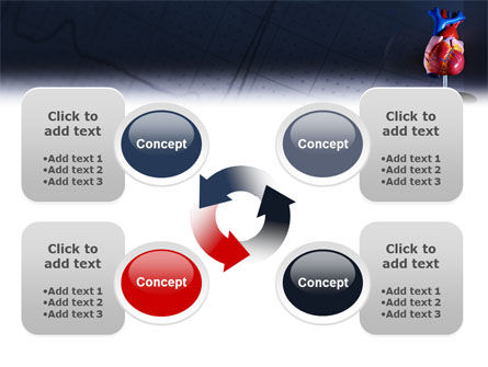 Heart Model PowerPoint Template Slide 9